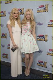 Liv And Maddie Halloween 2015 by Olivia Holt And Dove Cameron At The Radio Disney Music Awards 2015