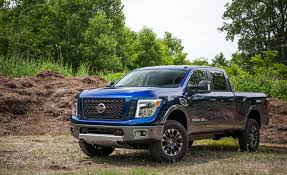 2016 Nissan Titan XD Test | Review | Car And Driver 2018 Used Nissan Titan Xd 4x4 Diesel Crew Cab Sl At Saw Mill Auto 2016 Review Notquite Hd Pickup Makes Cannonball New Entry Into The Midsize Truck Field Cars 2017 Reviews And Rating Motor Trend Canada Debuts Custom Offroready Pro4x The Drive Warrior Concept Asks Bro Do You Even Truck To Get A Gasoline V8 With 390 Features Is Cheapest Cummins 4wd At Momentum Pro 10r Cold Air Intake System Afe Power Fullsize Pickup With Engine Usa In Lufkin Tx Loving