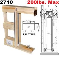 2710 Series Prefabricated Pocket Door Frame Kits | Johnsonhardware ... 42 X 84 Barn Doors Interior Closet The Home Depot Easy Operation With Pocket Lowes For Your Inspiration Sliding Glass Wood More Rustica Hdware Looking An Idea How To Build A Door Frame Click Here Cream Painted Wall Galley Kitchen Design Using Dark 1500hd Series Frames Johnsonhdwarecom Best 25 Doors For Sale Ideas On Pinterest Bedroom Closet Bypass Barn Door Hdware Timber Building Handles Rw Kits Images Ideas