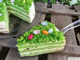 grüne torte aus meinem kuchen und tortenblog creme für
