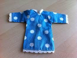 details about vintage faerie glen blue white spotty dress fits