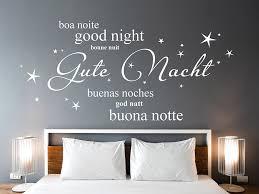 wandtattoo gute nacht in verschiedenen sprachen wandtattoos de