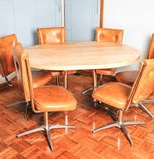 Atomic Mid Century Modern Chromcraft Kitchen Table And ... Chromcraft Core C318 Swivel Tilt Caster Arm Chair Tilt Caster Ding Chairs By Castehaircompany C Etteding Table And 6 C177 Chromcraft Ding Room Set Table Chairs Black Chrome Craft Sculpta Set 1960s Sets With Casters Insidtiesorg Inspirational Fniture Kitchen Wheels Home Design Dingoom Il Fxfull Sets With Rolling Modern Indoor Corp 1969 Dinette On Chairishcom In 2019