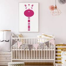 Amazoncom Childrens Wall Decal Cute Zebra Vinyl Decorations