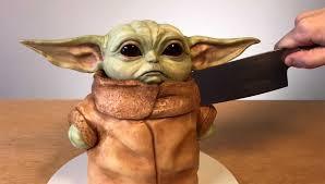 baby yoda kuchen