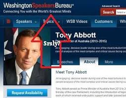 washington speakers bureau buyer beware the washington speakers bureau and tony abbott s