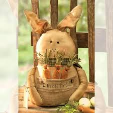 Primitive Easter Home Decor by Easter Bunny Decor Primitive Home Decors