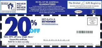 Bed Bath and Beyond Coupon 2016 20 f line Coupons