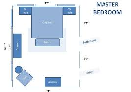 catchy small master bedroom furniture layout interior home design
