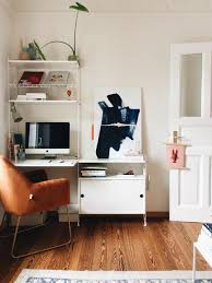 arbeitsplatz und ausstellungsfläche in einem wohn