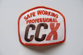 100 Ccx Trucking CCX SAFE WORKING PROFESSIONALORIGINAL Award Co Logo