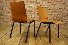 mobiliar interieur 60er vintage 4x esszimmer stuhl
