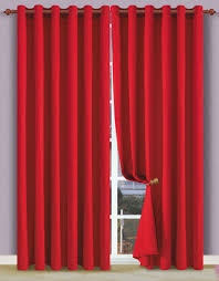 Absolute Zero Curtains Red by Blackout Curtains Home U0026 Interior Design