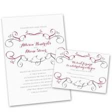Wedding Invites Free Respond Cards Swirling Beauty Invitation With Response Postcard