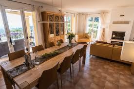 wohn essbereich villa