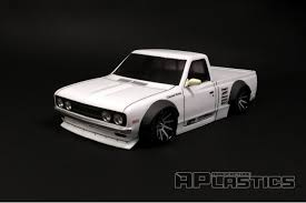 Datsun 620 Pickup Truck (Nissan) W/ Flares 1/10 Body Set [APlastics ... Datsun Pickup Truck Usa Canada Automobile Sales Brochures History Of Datsun Photos Past Cars Classic Truck Award In Texas Goes To 1972 Pickup Medium Ratrod And Bikes Trucks Mini Trucks Pickup Truckin Pinterest Nissan Original Arizona Truck 1974 620 For 5800 Get Into Bed With A Khabarovsk Russia August 28 2016 Car Wikipedia Bone Stock 1968 520 On The Road March 3 Car At Starting Grid Classic Race