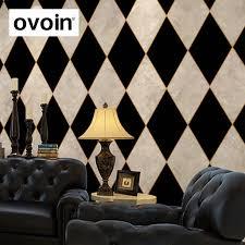 karierten oder karierten tapete vinyl marmor raute fliesen tapeten belag für wohnzimmer schlafzimmer