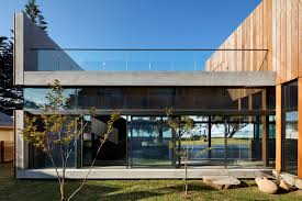 104 Beach Houses Architecture 5 Bold Minimalist Side Homes In Australia Architizer Journal