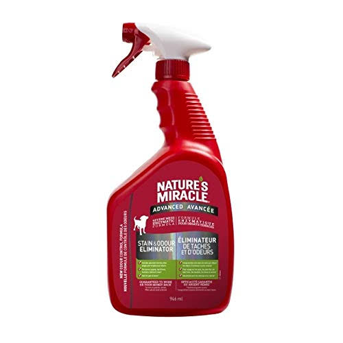 Nature's Miracle Dog Advanced Stain & Odour Remover Spray 946 ML