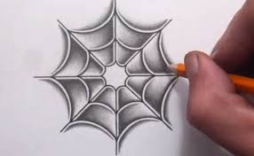 How to Shade in a Spider Web
