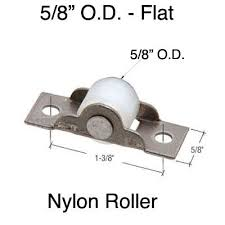 Door Rollers 5 8 inch Diameter Nylon