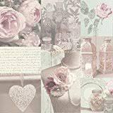 Arthouse Charlotte Blush Wallpaper Pink
