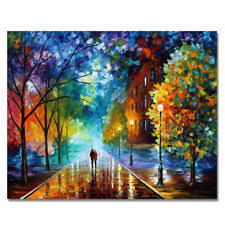 Paintworks Paint By Number Kits Diy Oil Painting Unique Gift Romantic Night L6L5