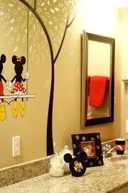 Mickey And Minnie Mouse Bath Decor by Mickey And Minnie Bathroom Set Mickey Mouse And Mouse Bathroom