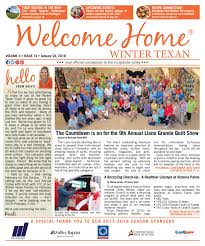 Welcome Home Winter Texan : Vol 3 Issue 14 : January 24, 2018 By ...