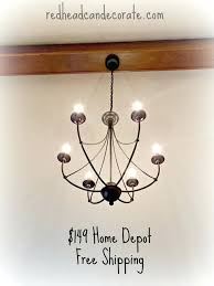 Home Depot Ceiling Chandeliers by Home Depot Chandelier Lighting U2013 Kitchenlighting Co