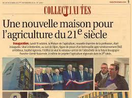 chambre agriculture bourgogne une nouvelle maison pour l agriculture du 21e siècle société est