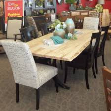 100 6 Chairs For Dining Room Live Edge Table Set In Wormy Maple With