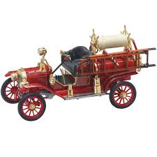 100 Model T Fire Truck NEW 1914 Ford Ruck Die Cast 118 Scale Collectible