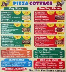 Pizza Cottage Menu Menu for Pizza Cottage Mira Road Mumbai Zomato