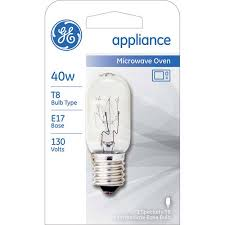 ge 40w appliance bulb clear t8 n 1 pack walmart