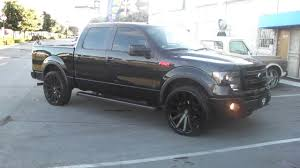100 Ford Truck Rims 8775448473 26 Inch Velocity VW12 All Black Wheels 2014 F150