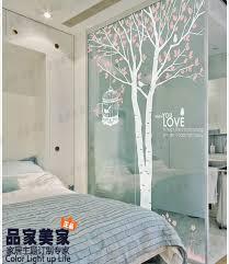 baum und vögeln große wandaufkleber wald anlage design ast wandbild wandtattoo baum schlafzimmer wandverkleidung dekoration