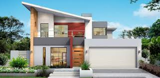100 Modern Two Storey House Contemporary Twostorey House Plan With A Living Room And A Kitchen