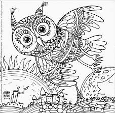 Owl Design Coloring Page No352 Above It All