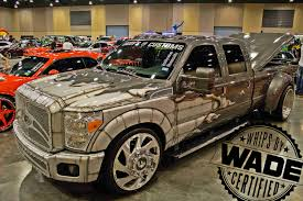 SE Car Truck & Bike Show :Caddys Customs Dually On 26