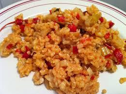 cuisiner les poivrons risotto aux poivrons tomates et céleri envie de cuisiner