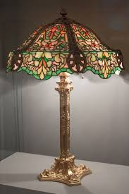 Duffner And Kimberly Lamps by File Lamp And Lampshade Made Of Tiffany Glass Jpg Wikimedia Commons