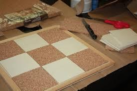 cork board how to cut cork board tiles ideas for cork board tiles