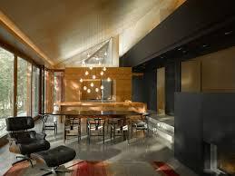 Rustic Interior Doors Providing Brilliant Entrance For Modern Home Lake Cottage Dining Room Near Dark