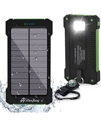Sweet Deal on Solar charger hiluckey mah waterproof solar