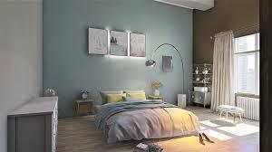 schlafzimmer mit akzenten frische farben für den frühling