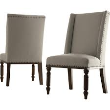 Wayfair Dining Room Chair Covers by Furnitures Parsons Chairs Cream Leather Dining Chairs