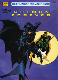 1995 Batman Forever A Giant Coloring Book