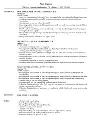 Download Snowboard Instructor Resume Sample As Image File
