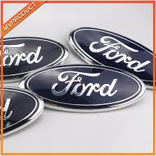 100 Ford Stickers For Trucks Auto Car Front Logo Sticker Emblem Badge Car Styling Accessories Decorative Sticker Decal